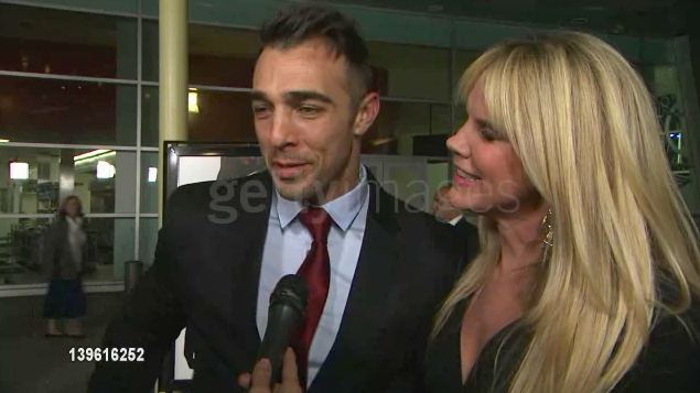 "Sam Upton ""Gone"" Red Carpet Interview"